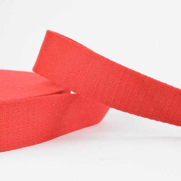 Gurtband - uni rot