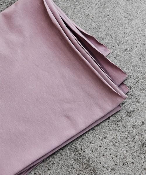 Organic Single Stretch Jersey Lilac