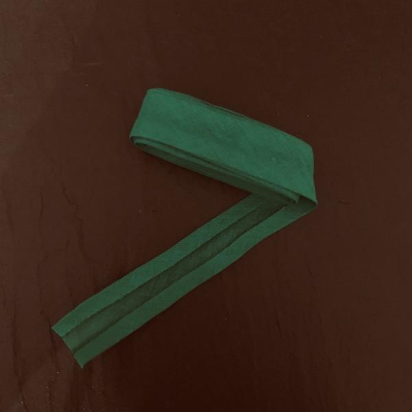 Schrägband uni grasgrün