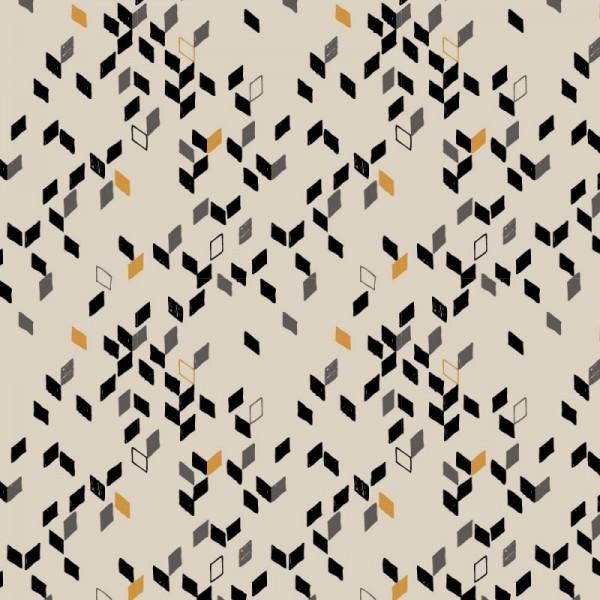 Twist Mustard Fabric
