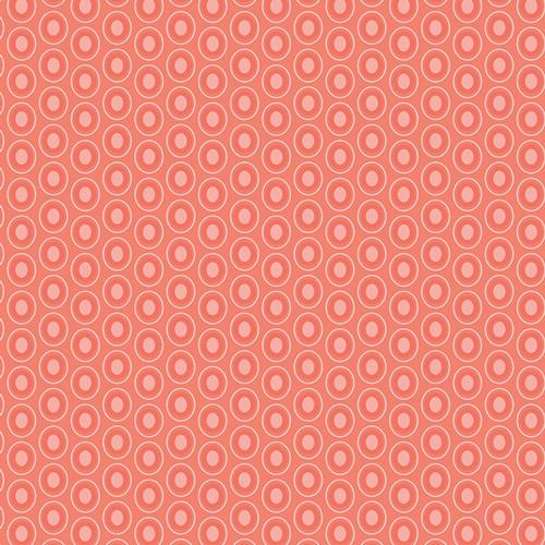 Baumwolle Oval Elements - Pomelo