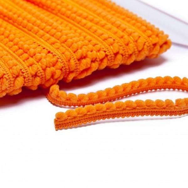 Pomponborte mikro online günstig kaufen orange