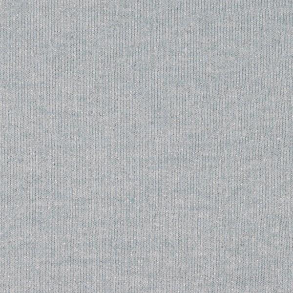Glamoursweat melange - mint/silber