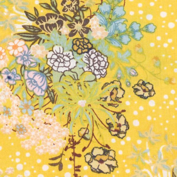 Voile Art Gallery Blumen gelb