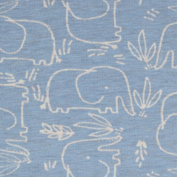 Jersey Benno Elefant blau