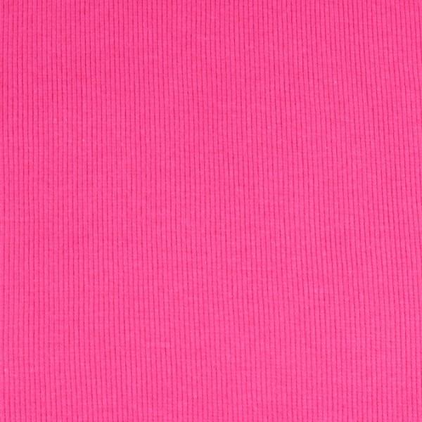 Bündchenware uni pink , Öko Tex Standard 100