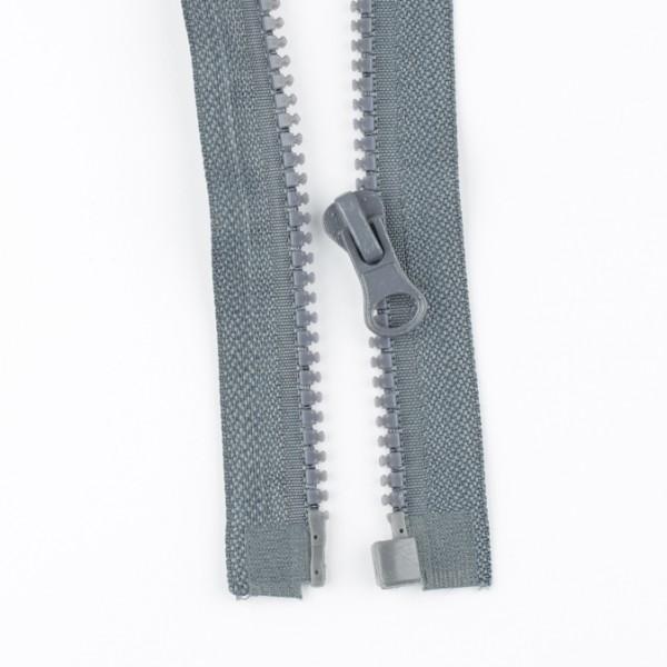 Reißverschluss teilbar 45cm grau