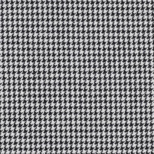 Wollstoff Hahnentrittmuster klein