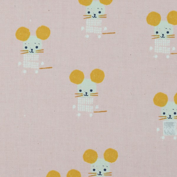 Cotton and Steel - Sunshine - Little Friends Pink