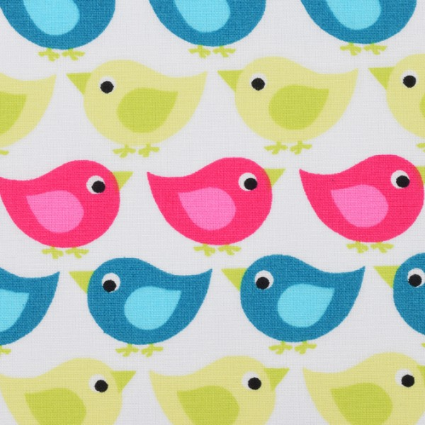 kbA Westfalenstoffe Baumwolle Junge Linie Vögel
