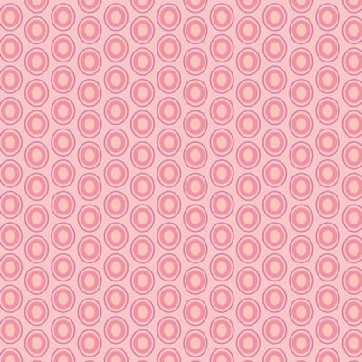 Baumwolle Oval Elements - Parfait Pink