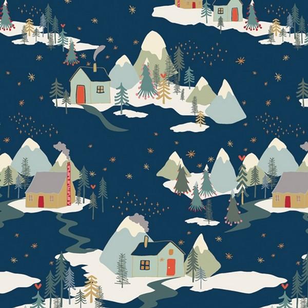 Art Gallery Baumwolle - Winter Wonderland