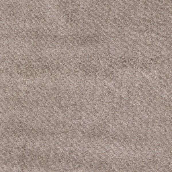 Strickfrottee Stoff - uni - cinder