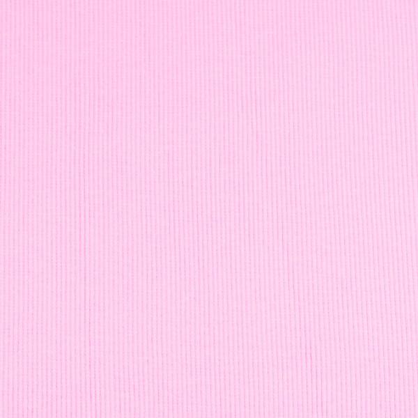 Bündchenware uni rosa , Öko Tex Standard 100