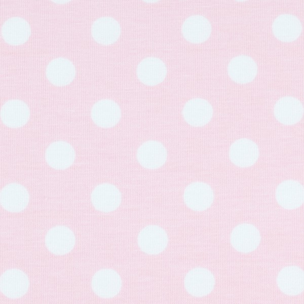 Jersey Punkte rosa, Öko Tex Standard 100