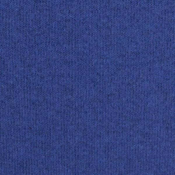 Strickstoff Bene angeraut **made in Italy** royalblau