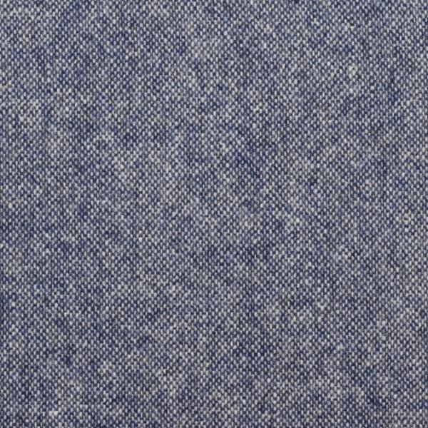 Massimo **Made in Italy**, Tweed, Salz und Pfeffer, blau