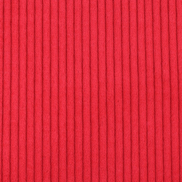 Cordstoff breit rot