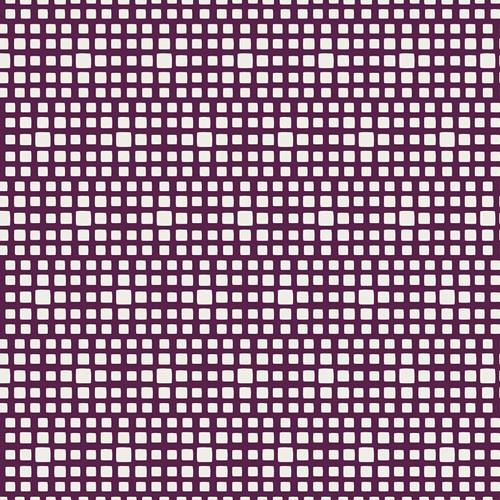 Baumwolle Squared Elements - Merlot