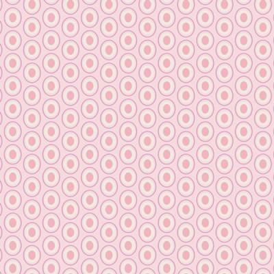 Baumwolle Oval Elements - Petal Pink
