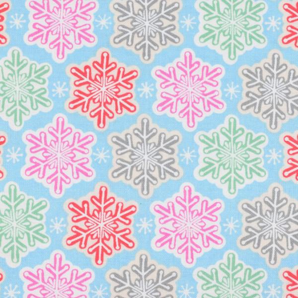Blend Vintage Noel - Schneekristall bunt