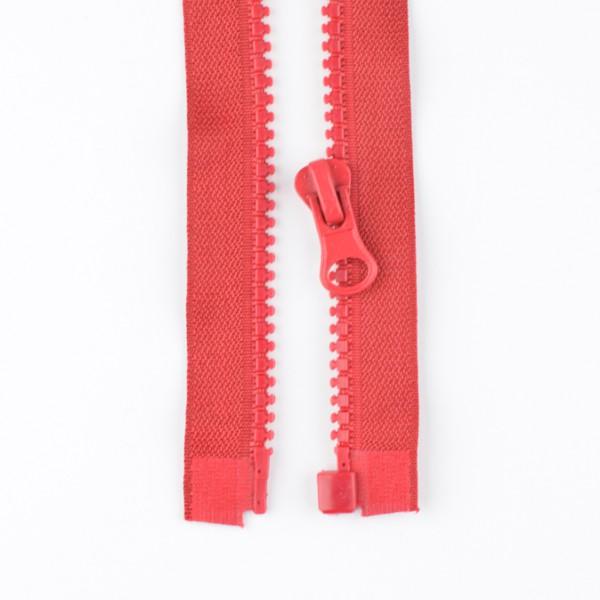 Reißverschluss teilbar 45cm rot