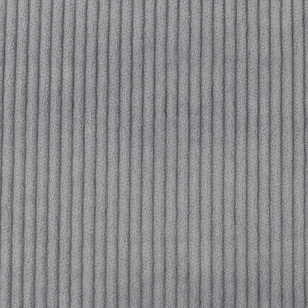 Breitcord Cordstoff breit grau