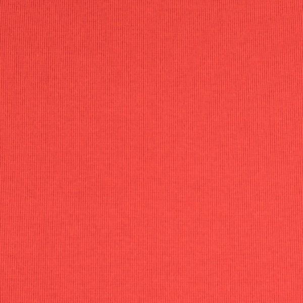 Bündchenware, rot, Öko Tex Standard 100