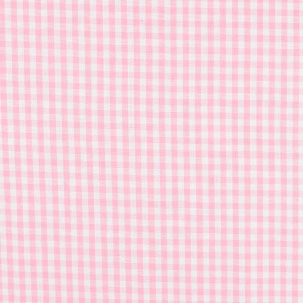 Vichy baumwolle rosa weiß, öko-tex standard 100