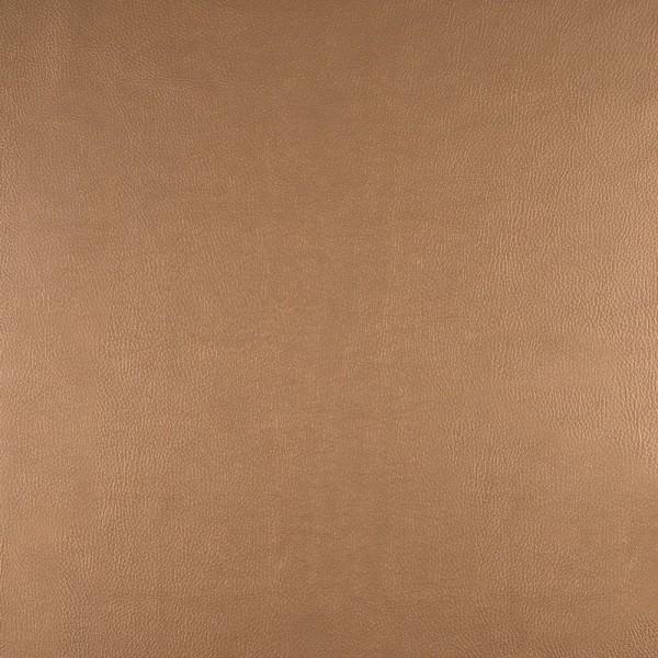 Kunstleder metallic ocker
