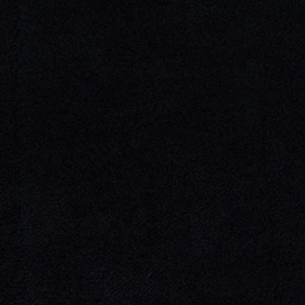 Microfaserfleece schwarz