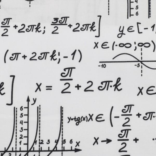 Baumwolle Kim, Mathematik schwarz/weiß