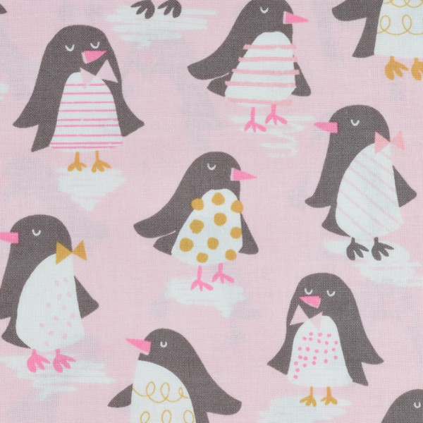Blend Snow Day Pinguine rosa