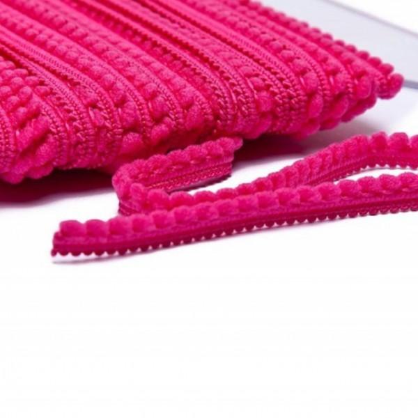 Pomponborte mikro online günstig kaufen pink