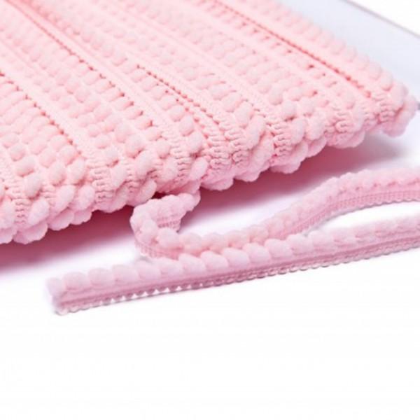 Pomponborte mikro online günstig kaufen rosa