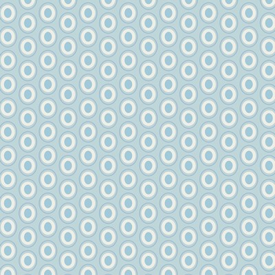 Baumwolle Oval Elements - Powder Blue