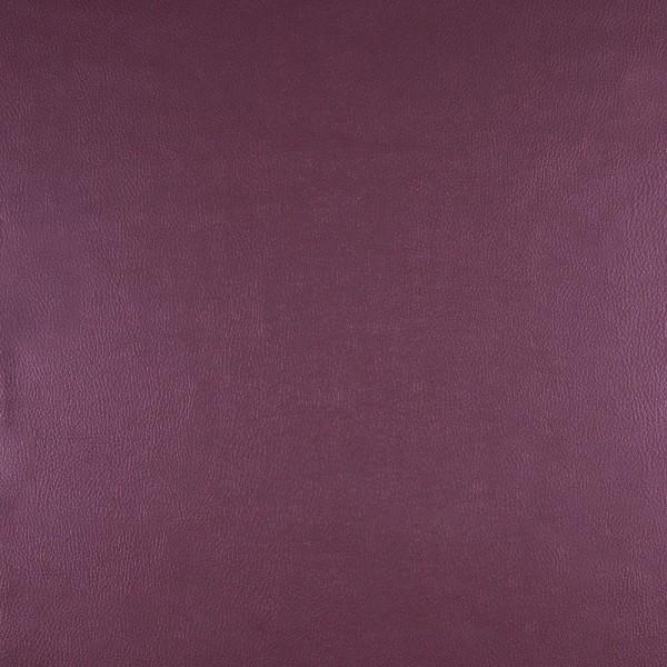 Kunstleder metallic lila