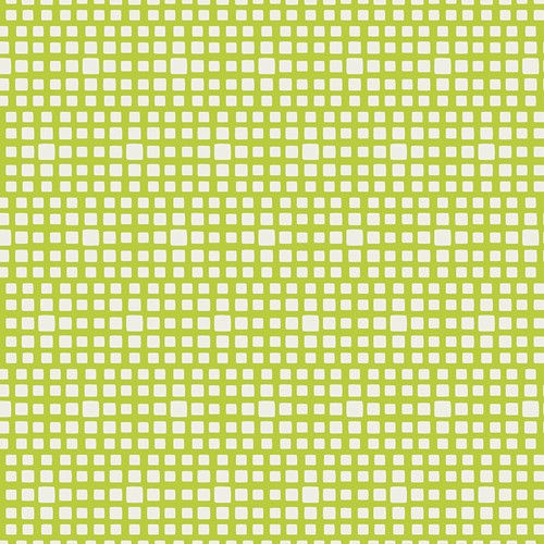 Baumwolle Squared Elements - Lime