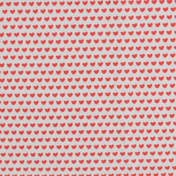 KOKKA Herzchen rot
