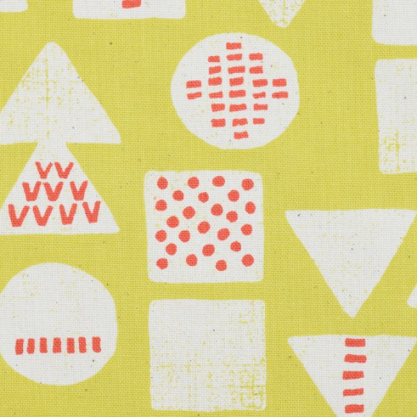 KOKKA Tréfle geometrisch gelb