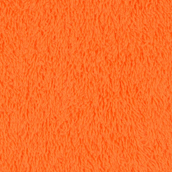 Frottee uni orange