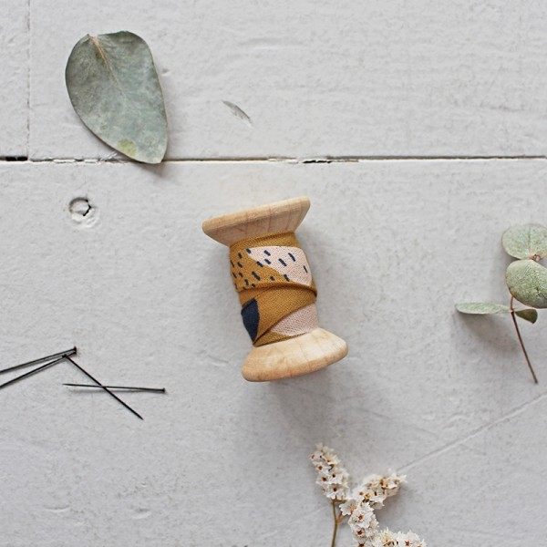 Schrägband Atelier Brunette BIAS - Moonstone Ochre